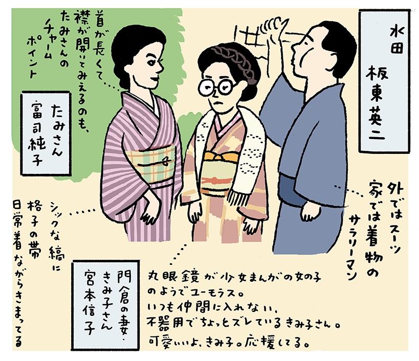 浅生ハルミンの銀幕のkimonoスタア15 『あ・うん』の富司純子 | 雑誌 ...